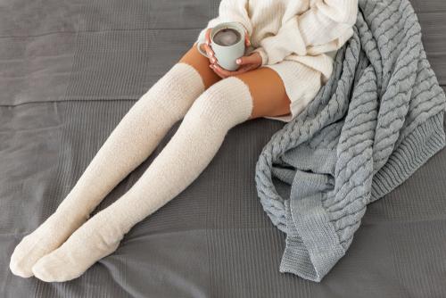 服装での冷え性対策
