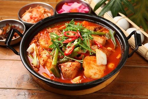 温活食べ物:サバのチゲ鍋
